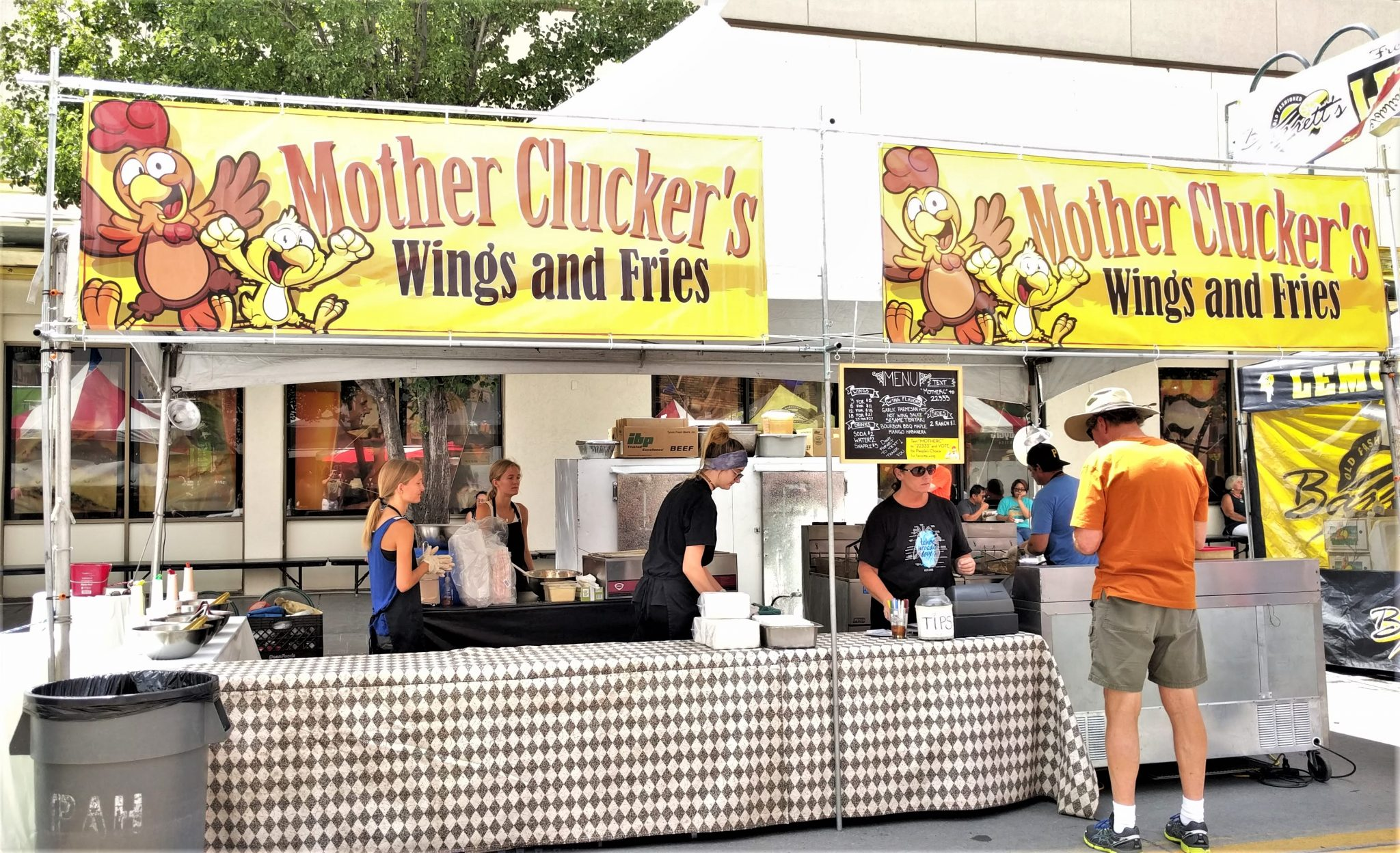 Mother Clucker's Wings and Fries