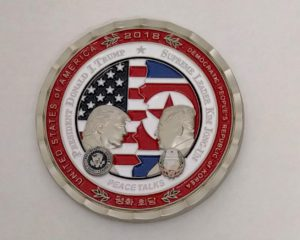 米朝サミット記念コイン – Korea Peace Talks Summit in Singapore Coin