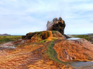 Fly Geyser opened to the public (But limited)